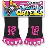 Chaussettes Orteils 18 ans Femme