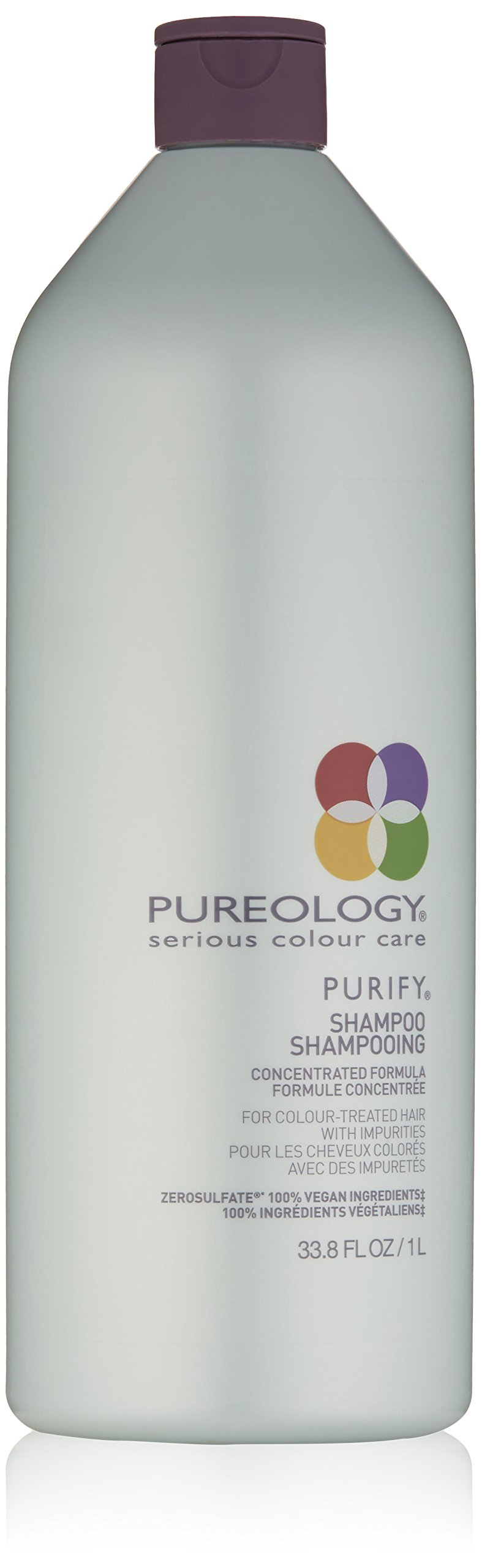 Pureology Purify Shampoo for Color Treated Hair, 33.8 Fl Oz by Pureology