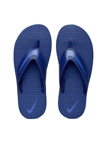 new styles speical offer special buy Nike Men's Solid Chroma Thong Flip-Flops(Blue)
