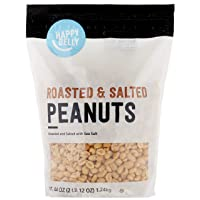 Deals on Amazon Brand Happy Belly Roasted and Salted Peanuts 44oz