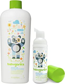 Amazon Com Babyganics Alchohol Free Foaming Hand Sanitizer On