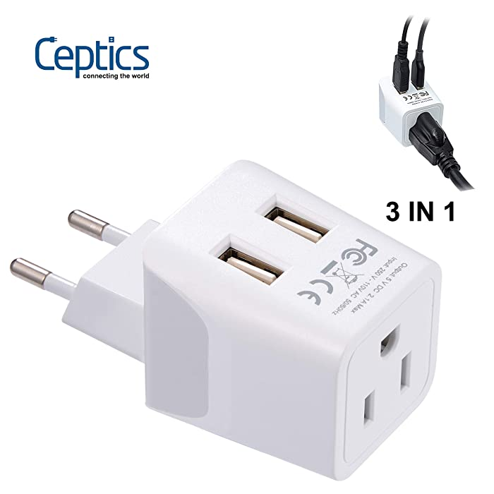 Top 9 Europe Charger Adapter For Laptop