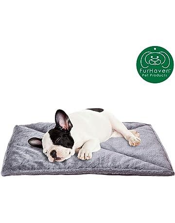Pet Cat Dog SELF-WARMING THERMAL MAT BED PLAID LEOPARD REVERSIBLE Fleece Crate