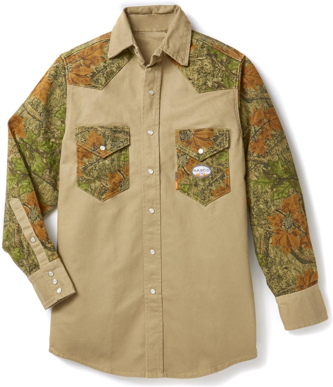 Rasco FR Khaki Uniform Shirt