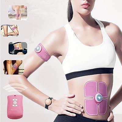Silaite intelligent Wireless fitness appareil; Tonique de muscle abdominal, équipement portatif d'entraînement de forme physique, exercice sans fil de muscle pour l'entraînement d'abdomen/bras/jambe, hommes