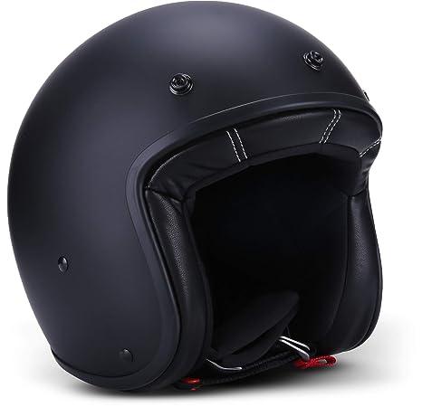 Brille schwarz matt Gr MT Motorrad Jet Helm Custom Rider inkl XS bis XXL