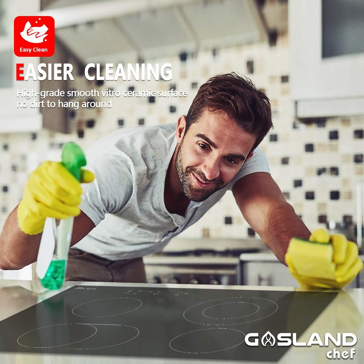Amazon.com: Cocina eléctrica, Gasland Chef CH77BF 30 ...