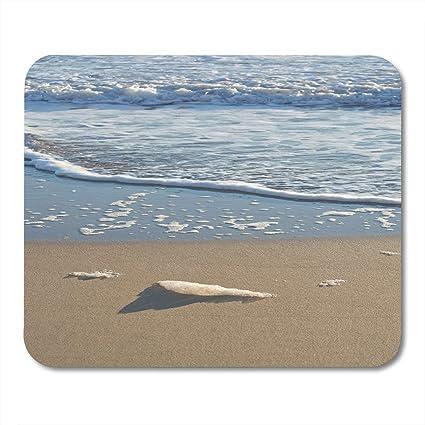 Alfombrillas de ratón Playa Azul Resumen Detalle de espuma de mar ...