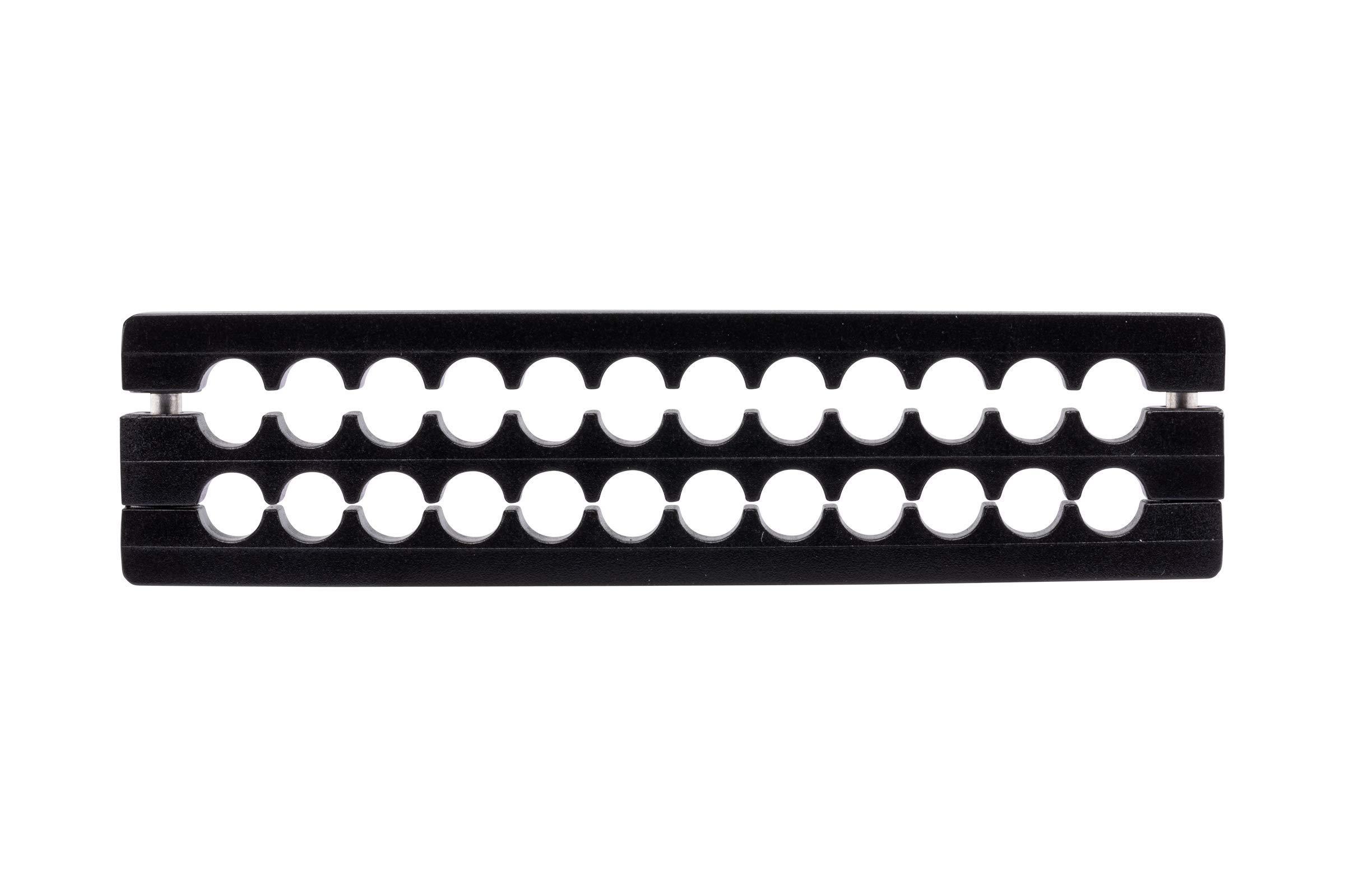 CORSAIR Premium Individually Sleeved PSU Cables Starter Kit - Black, 2 Yr Warranty, for Corsair PSUs by Corsair (Image #9)