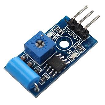 Módulo sensor de alarma Haljia SW-420 para Arduino Raspberry ...