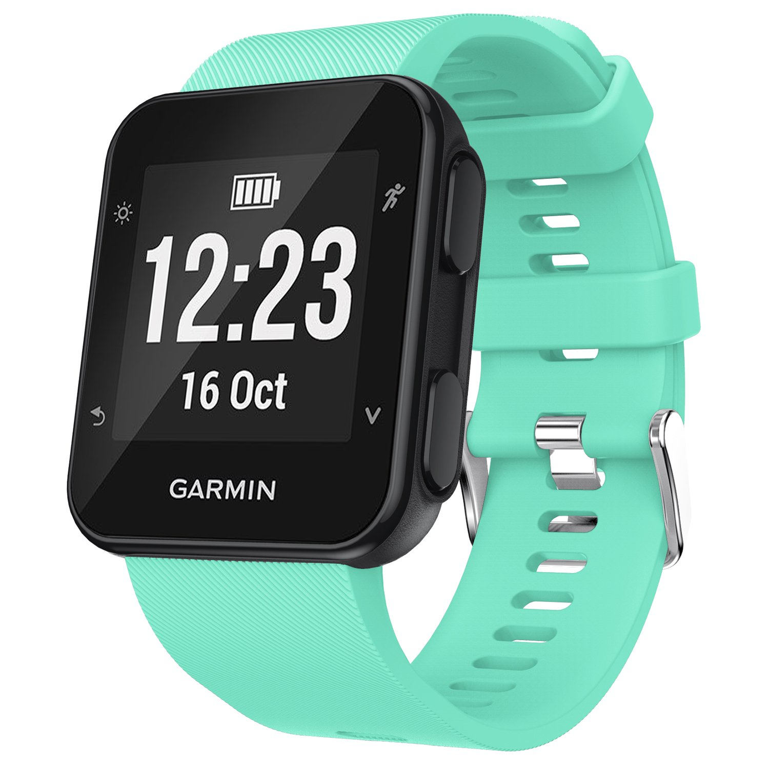 Amazon.com: Garmin Forerunner 35 Watch Band, Soft Silicone ...