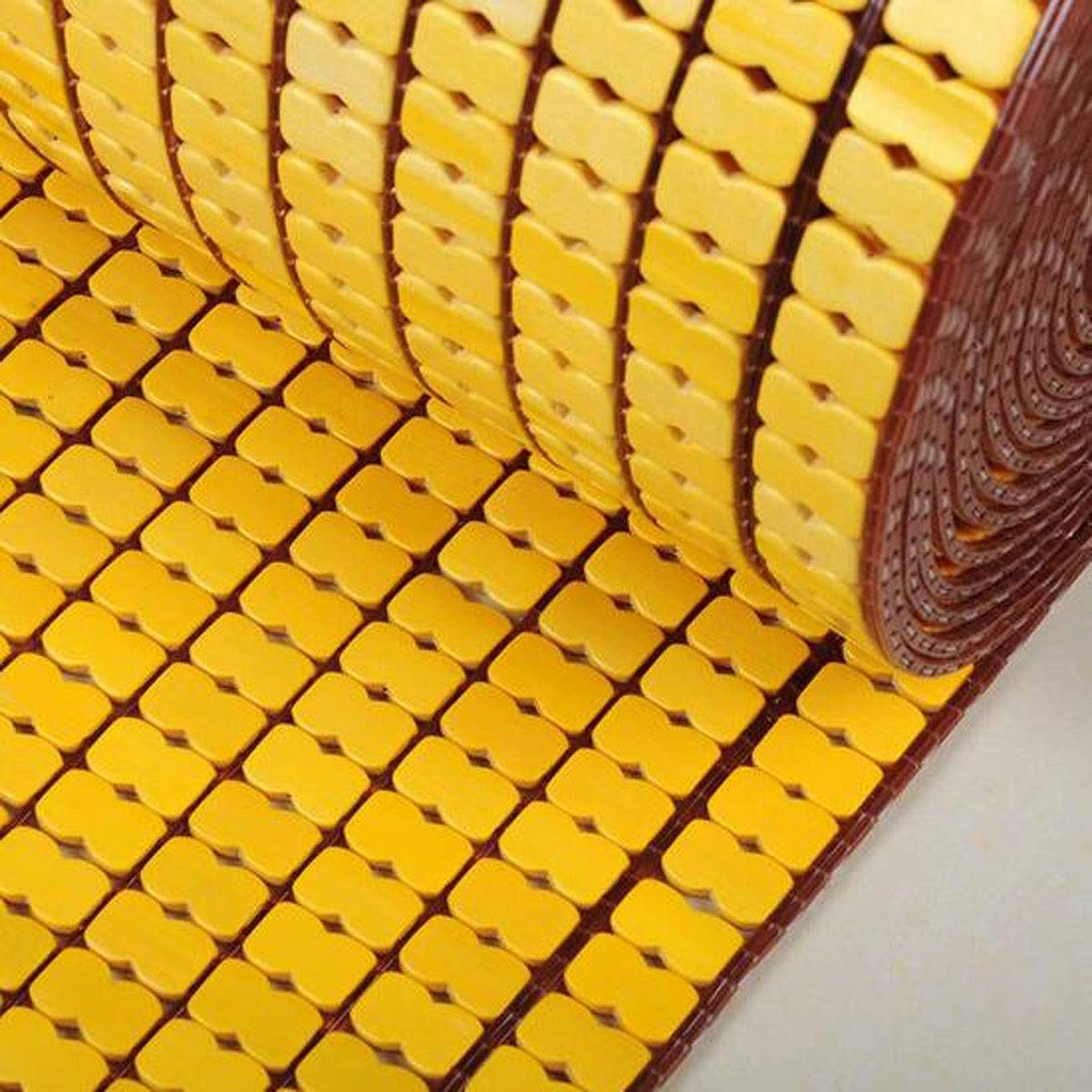 Jielongtongxun 木製マット、夏バルコニー出窓滑り止め竹マット、車のソファ麻雀学生寮の椅子竹マット、ベージュ、マルチ特別オプション (Color : Beige, Size : 90*190cm) 90*190cm Beige B07RMCT8MG