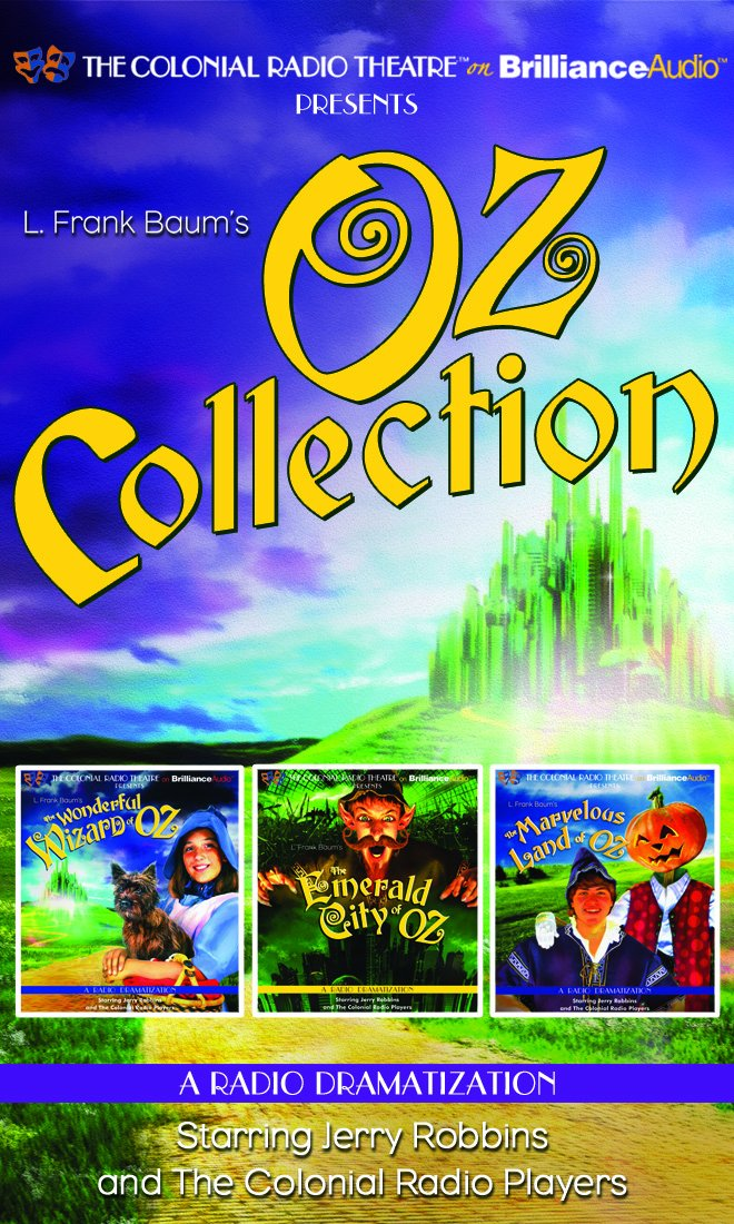 Oz Collection: The Wonderful Wizard of Oz, The Emerald City of Oz, The Marvelous Land of Oz pdf