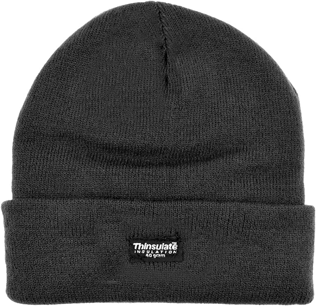 laylawson Boys//Girls Kids Childrens Knitted 40gram Thinsulate Lining Thermal Winter Beanie Hat