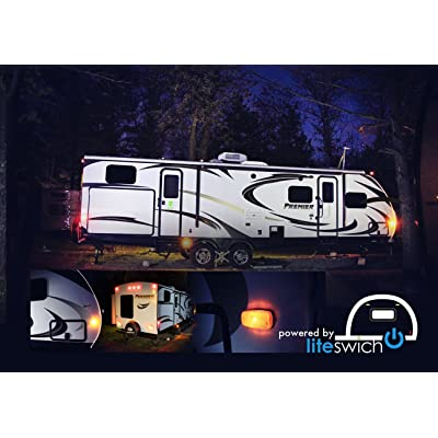 Turn on Your Camper Lights RV Lights with LITESWICH 2.0 Camping Accessories: Car Electronics