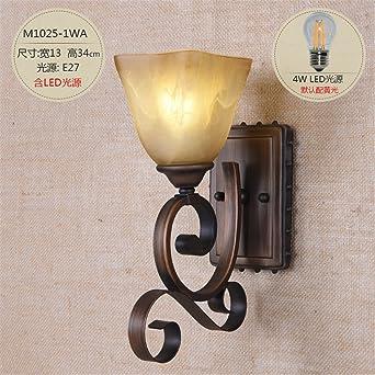 Mmynl Moderne E27 Antik Wandlampe Vintage Wandlampen Wandleuchten