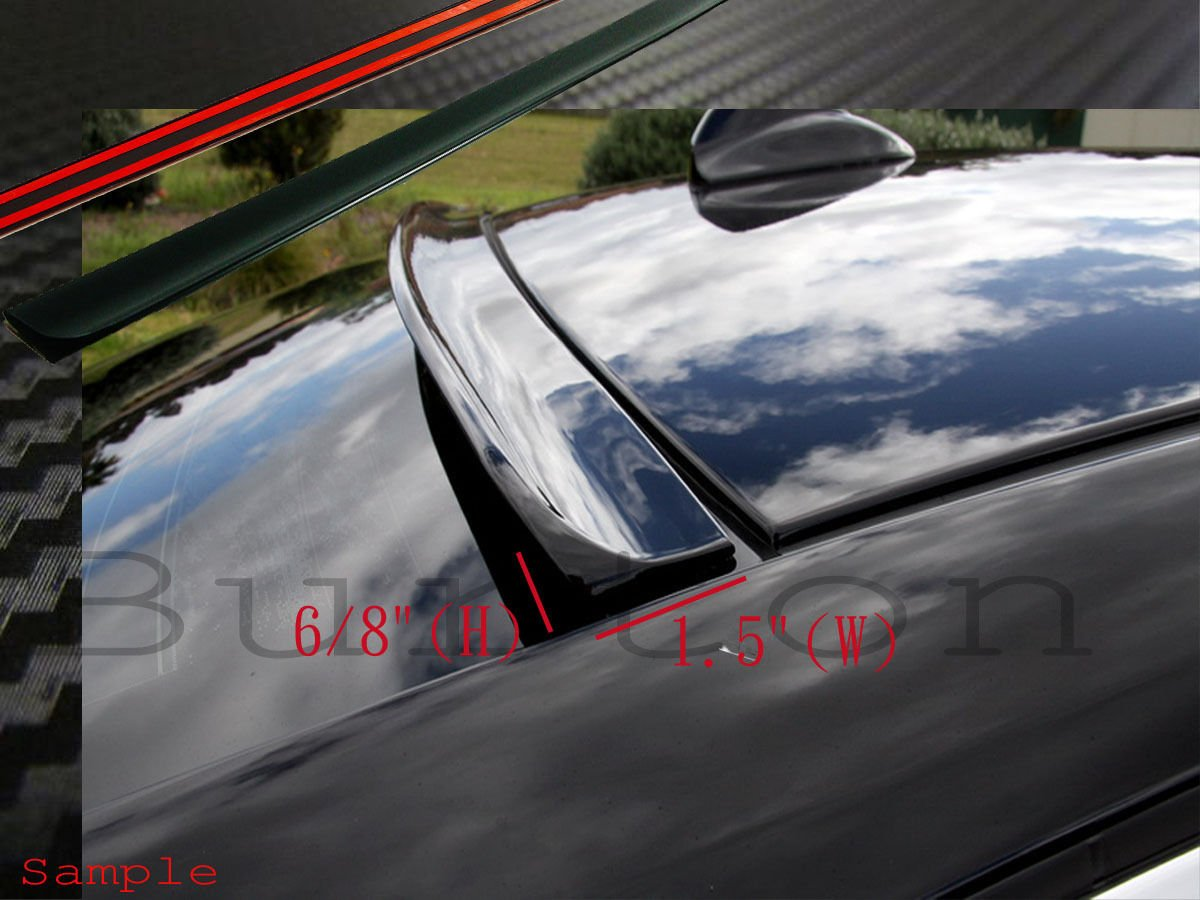 JR2 Painted Black Color for 2010 2011 2012 2013 2014 2015 Chevy Cruze 4D Rear Window Roof Spoiler