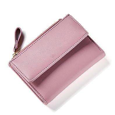 Bikifree Women Zipper Wallet Female Fashion Lady Wallet Short Solid Color Change Purse Hot Female Clutch