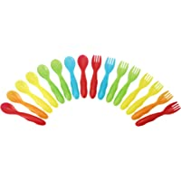 The First Years Multi Take & Toss Flatware, 16 count