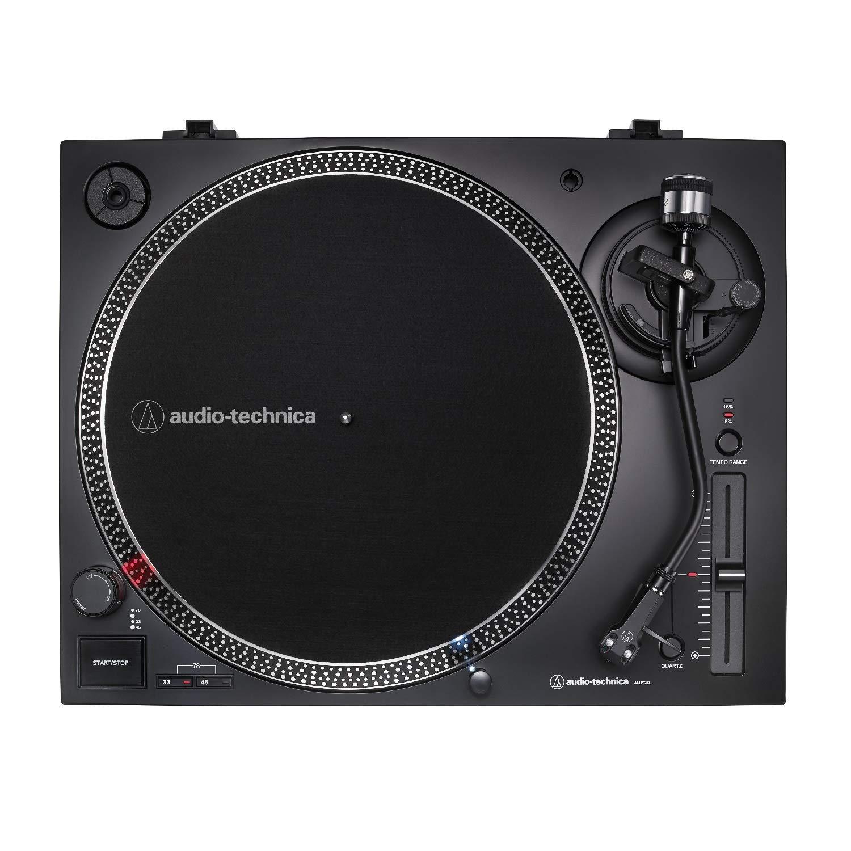 Audio-Technica AT-LP120X-USB Tocadiscos Negro con monitores ...