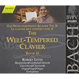 Bach: The Well-Tempered Clavier, Book II, BWV 870-893 (Edition Bachakademie Vol 117) /Levin