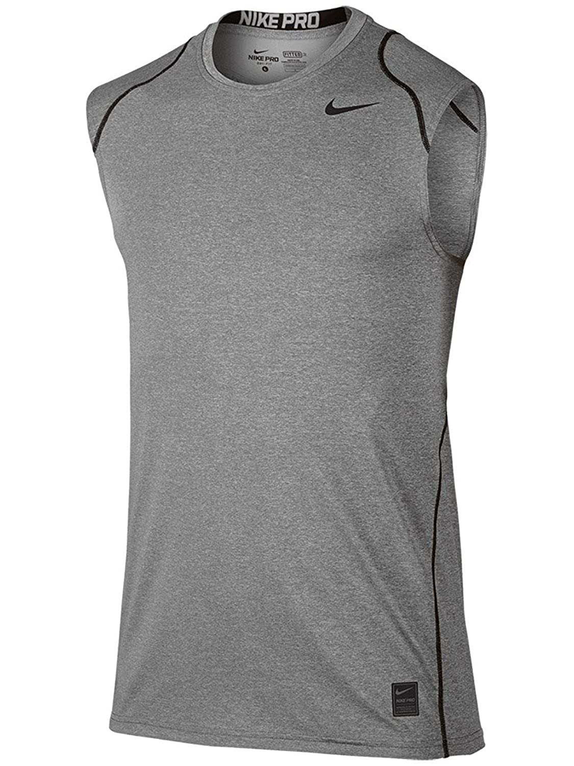 b30e7345d38bb Amazon.com  Nike Men s Pro Cool Fitted S L  Sports   Outdoors