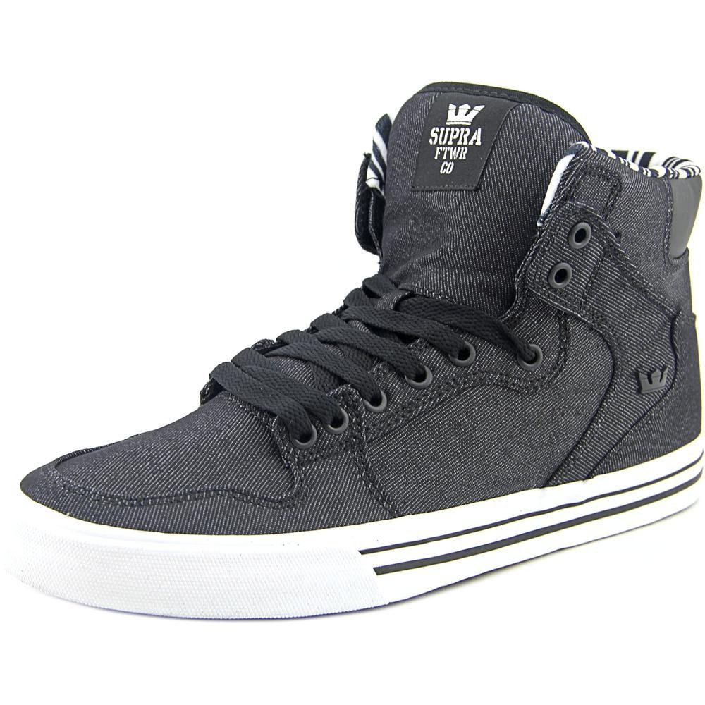 Supra Vaider Skate Shoe B011JIMWRK Medium / 10.5 C/D US Women / 9 D(M) US Men|Black-white