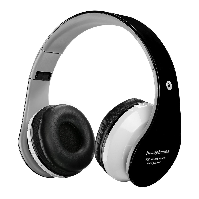 Bluetoothヘッドホン Large、ワイヤレスover-earステレオ折りたたみ式ヘッドセットボリュームコントロール、スマートフォンと互換性( B06VY5DCNP Large ) B06VY5DCNP, リサイクルトナー優良一番館:fe93d9a6 --- itxassou.fr