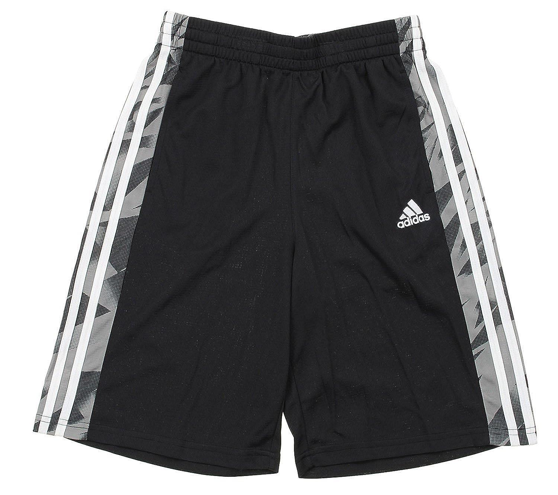adidas Youth Big Boys Animal Athletic Shorts, Black Black (Medium (10/12))