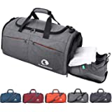 Canway Sports Gym Bag, Travel Duffel bag with...