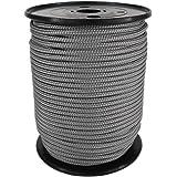 PP Seil Polypropylenseil SH 3mm 100m Farbe Dunkelgrau (0921) Geflochten