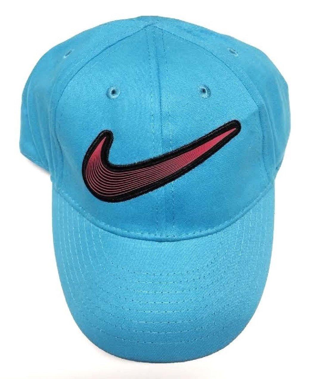 Amazon.com   Nike Baseball Cap Toddler girls Size 2 4T C Blue   Novelty  Baseball Caps   Sports   Outdoors 7309f155fa9c