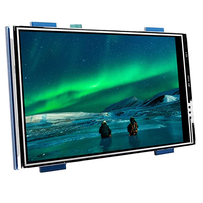 38 opinioni per Kuman TFT Touch Screen 3.5 inch 480 * 320 LCD Display Monitor for all Raspberry