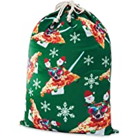 TUPOMAS Big Christmas Santa Sacks Gift Bag with Drawstrings