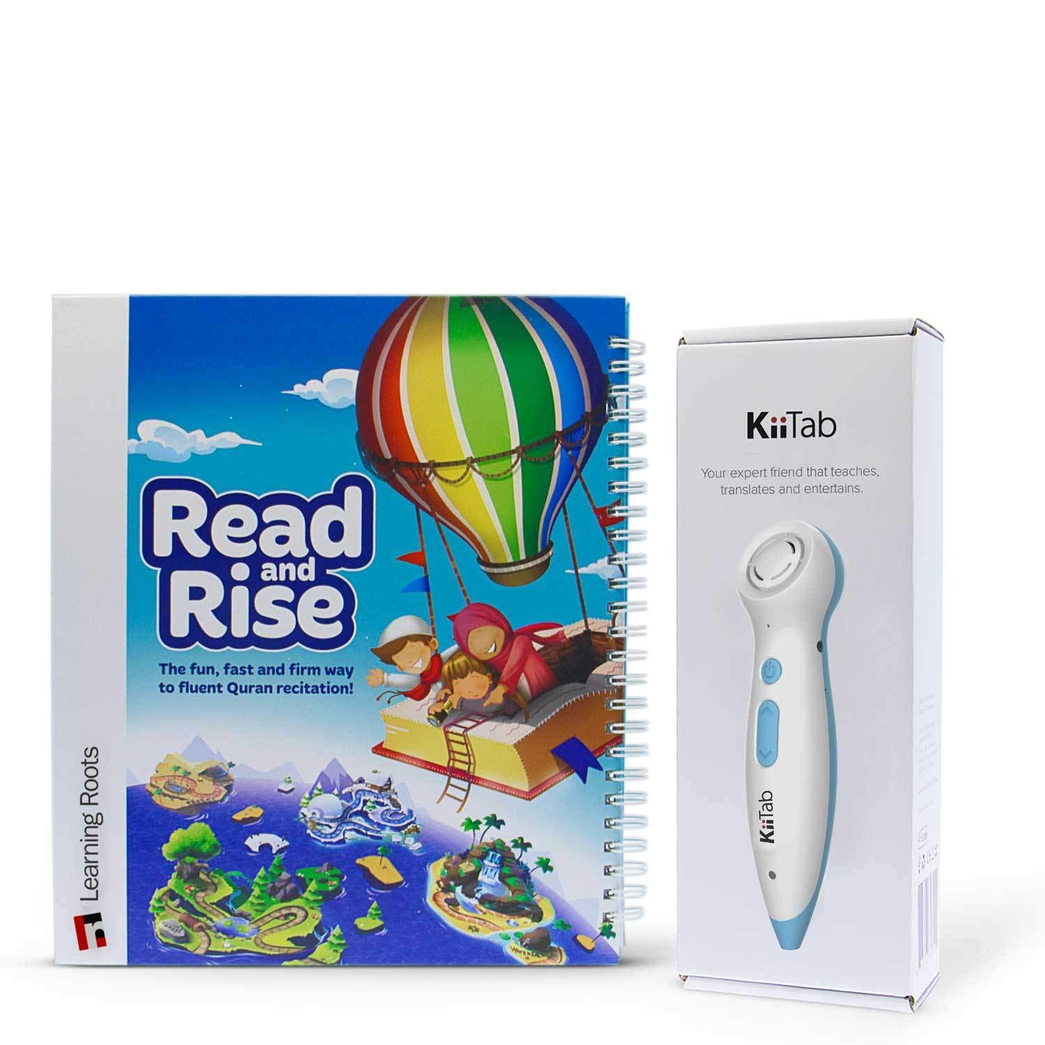 Read and Rise Book with Kittab Smart Pin for Learning Arabic and Pronunciation by Learning Roots