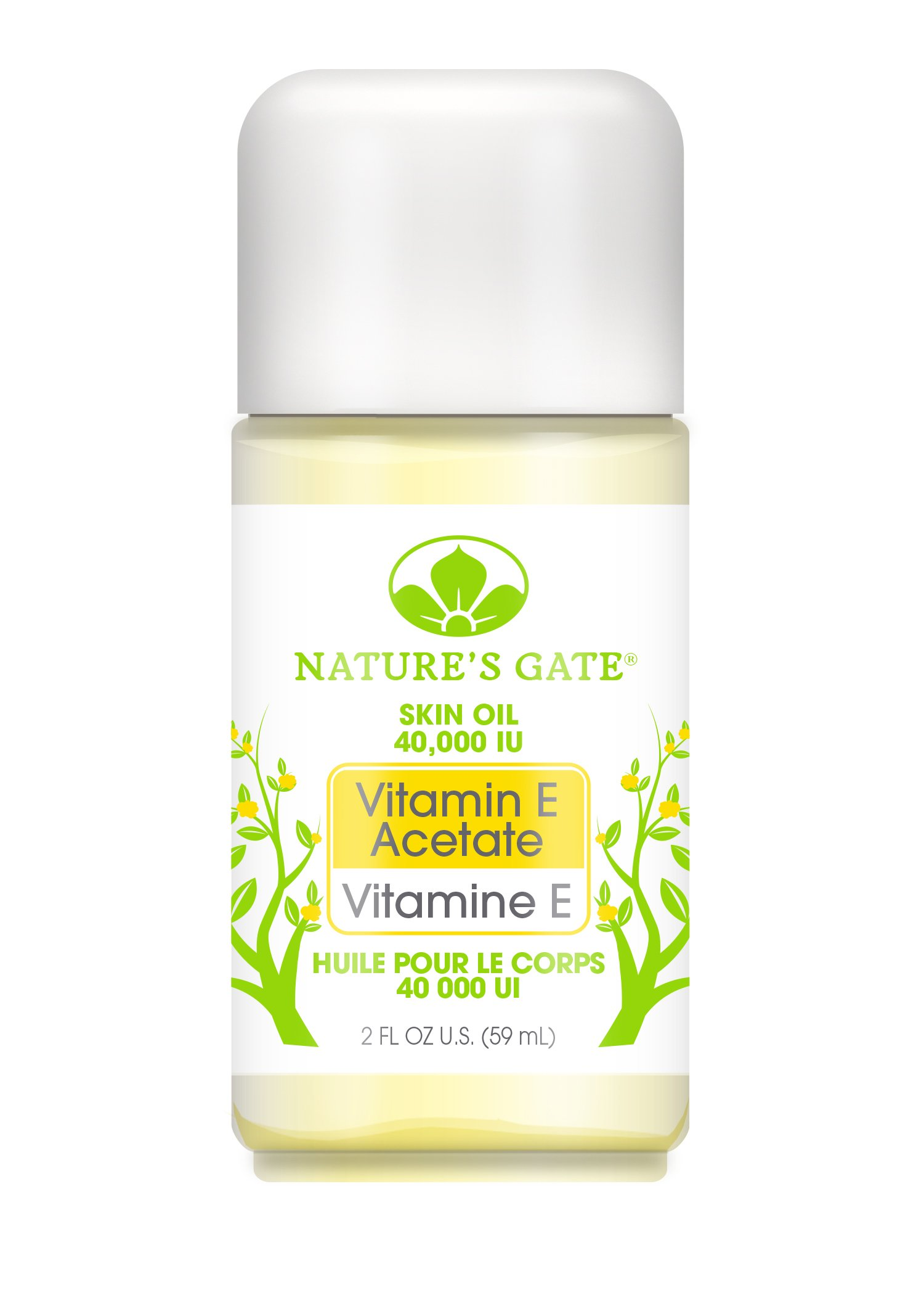 Nature's Gate Vitamin E Oil, 40, 000 I.U., 2 Ounce (Pack of 3) by Nature's Gate
