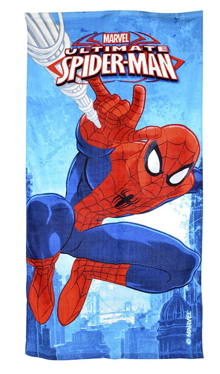 Hasbro Spiderman - Telo Mare, 70 x 140 cm, Assortito2 Kids Euroswan MV15066