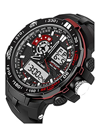 Reloj Deportivo para Hombres y Mujeres Reloj Militar Reloj Digital ...