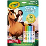 Crayola Spirit Coloring Book with Activities, 32 Coloring Pages & 7 Markers,  Kids