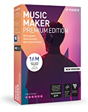 Magix UK Music Maker - 2019 Premium Edition - Our Most Popular Music Making Program! More power. More loops. More creative possibilities.