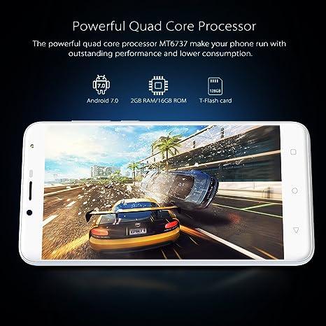 Smartphone Libres 4G, Wieppo S6 Teléfono móvil Dual SIM con ...