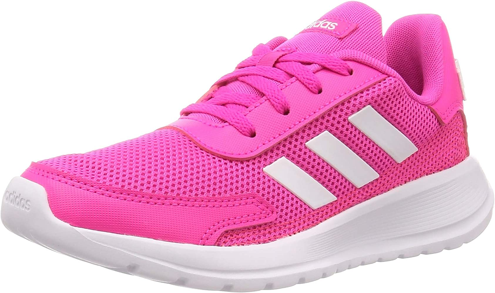 Adidas TENSAUR Run K, Zapatillas Running Unisex Infantil, Rose Flash Blanc Gris Clair: Amazon.es: Zapatos y complementos