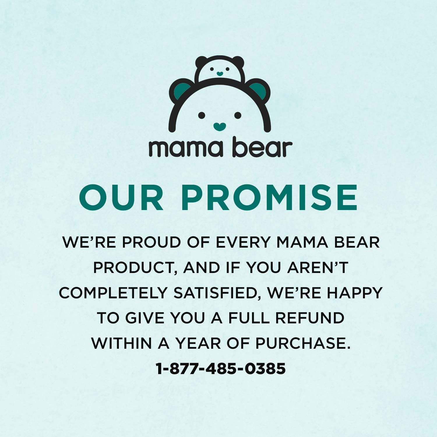 Mama Bear Gentle Fragrance-Free Baby Wipes Brand 8 Packs of 100 Wipes Hypoallergenic 800 Count