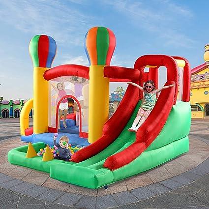Amazon.com: TOBBI Casa de rebote inflable para niños ...