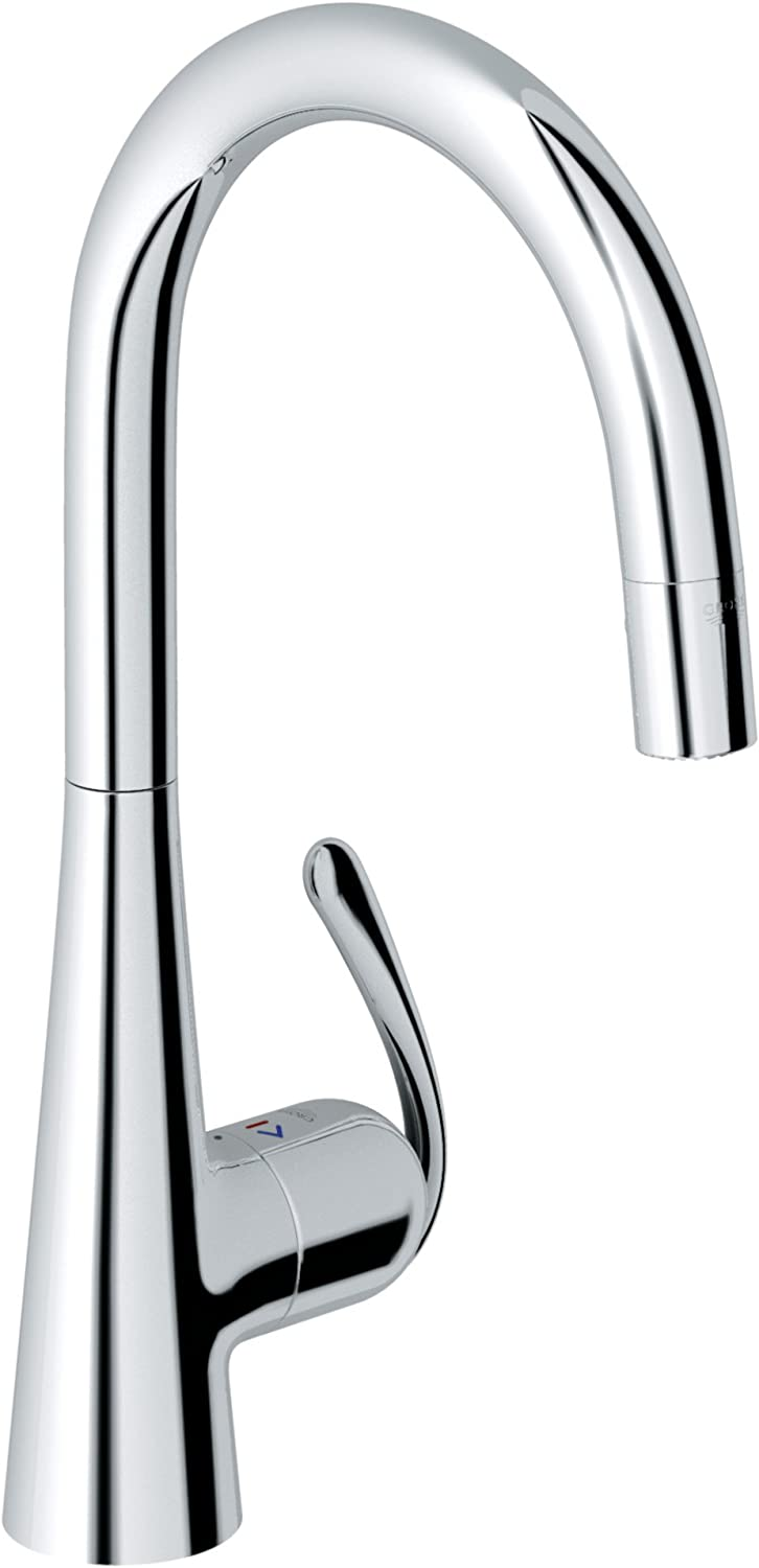 LadyLux Pro Single-Handle Pull-Down Kitchen Faucet Grohe 32226000