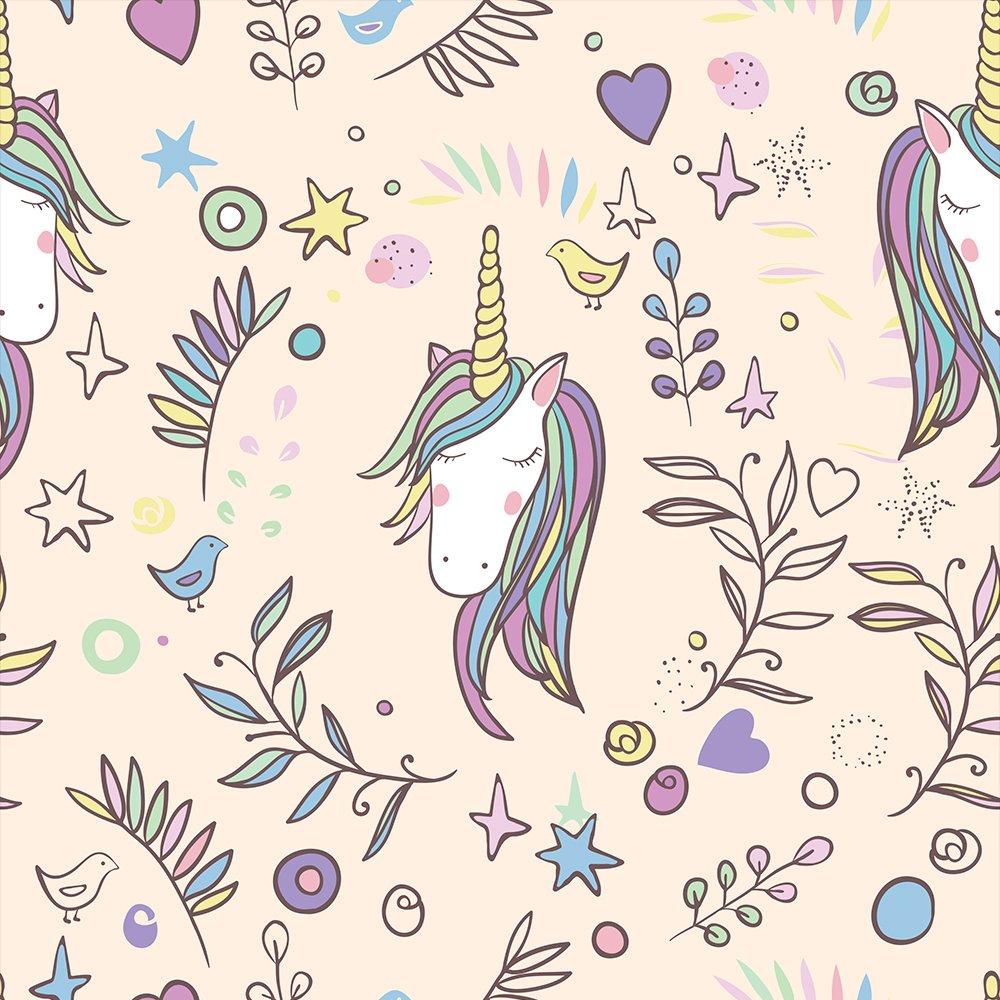 murando Papel Pintado autoadhesivo para ninos 10m Fotomurales Decoraci/ón de Pared Murales Pegatina decorativos adhesivos 3d panel moderna de Diseno Fotogr/áfico Unicornio Guarderia e-B-0024-j-a