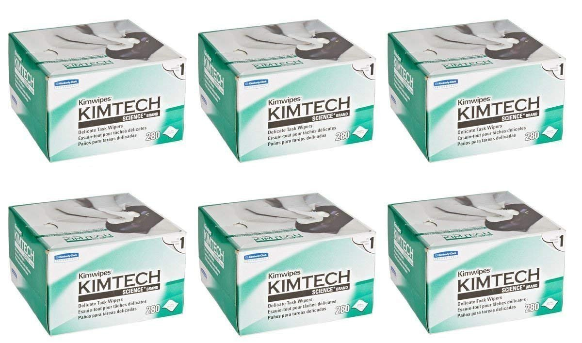 Kimberly-Clark Professional. Science KimWipes Delicate Task Wipers (6 Pack)