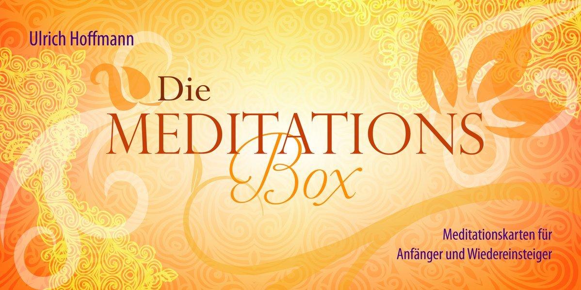 Die Meditations Box: 49 Meditationskarten u. Kartenständer (Meditation für Anfänger und Erfahrene, die sich Abwechslung wünschen, spielerisch Meditation lernen)