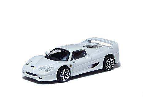 Amazoncom Bburago Ferrari F50 White 143 Miniature Collectible Toy