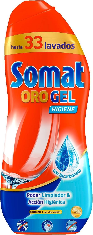 Somat Oro Gel Lavavajillas Higiene 33 Dosis: Amazon.es ...